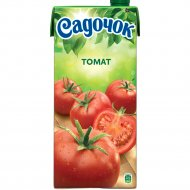 Сок томатный «Садочок» с сахаром и солью, с мякотью, 1.93 л.