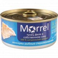 Консервы рыбные «Morrel» тунец в собственном соку, 185 г.