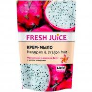Крем-мыло «Fresh juice» франжипани и драконий фрукт 460 мл.