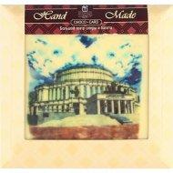 Шоколад белый «Театр оперы и балета» декорированный, 90 г.