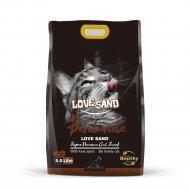 Наполнитель бентонитовый «Love Sand» с ароматом кофе, 5 л.
