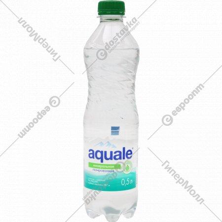Вода минеральная «Aquale» березинская, 0.5 л.