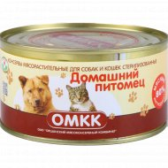 Консервы для животных «Домашний питомец» 325 г.
