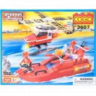 Конструктор «Cogo» cлужба спасения, 3607.