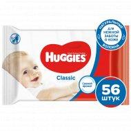 Салфетки влажные детские «Huggies» classic, 56 шт