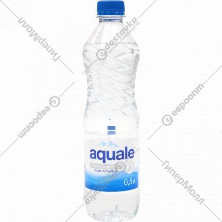 Вода питьевая «Aquale» березинская негазированная, 0.5 л.