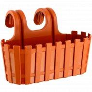 Кашпо пластмассовое подвесное «Akasya Easy Hanger» 29x21.5x18.5 см.