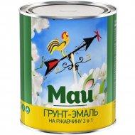 Эмаль «Ярославские краски» Май, по ржавчине, 3 в 1, синяя, 0.8 кг