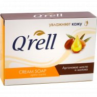 Крем-мыло «Q'rell» аргановое масло и молоко, 100 г.