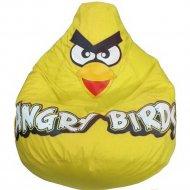 Бескаркасное кресло «Flagman» Груша Angry Birds, Г2.1-045, желтый