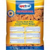 Картофельные дольки «Аграрфрост» с кожурой в панировке, 2.5 кг.
