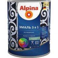 Эмаль «Alpina» Ral1015, по ржавчине, 3 в 1, слоновая кость, 0.75 л