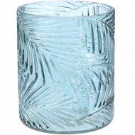 Подсвечник стеклянный 10x12 см.