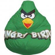 Бескаркасное кресло «Flagman» Груша Angry Birds, Г2.1-047, зеленый