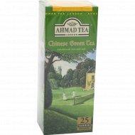 Чай зеленый «Ahmad Tea» китайский листовой, 25 пакетиков, 45 г.