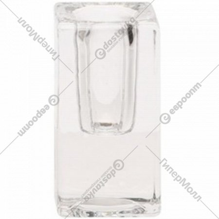 Подсвечник стеклянный 4x4.8 см.