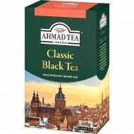 Чай черный «Ahmad Tea» листовой, 100 г.