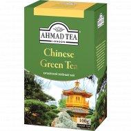 Чай зеленый листовой «Ahmad» китайский, 100 г.