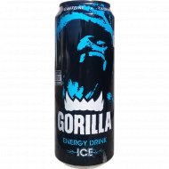Напиток энергетический «Gorilla Iсе» 0.45 л.