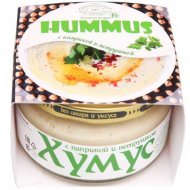 Закуска «Тайны востока-хумус» с паприкой и петрушкой, 200 г.