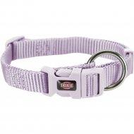 Ошейник «Trixie» Premium Collar, S-M, 30-45смх15 мм, светло-сиреневый.