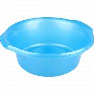Таз «Водолей» пластмассовый круглый, 37см, 9 литров.