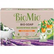Экологичное мыло «BioMio» с эфирными маслами лаванды и апельсина, 90 г