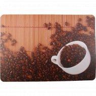 Салфетка сервировочная «Зёрна кофе», 40x28 см.