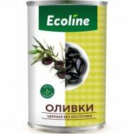 Оливки черные «Ecoline» без косточки, 280 г.