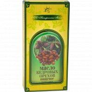 Масло кедрового ореха «Натуральные масла» 250 мл