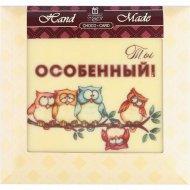 Шоколад белый «Прикольные» декорированный, 90 г.