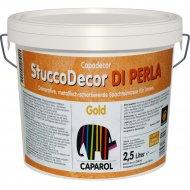 Шпатлевка «Caparol» CD StuccoDecor, DI Perla Gold, 2.5 л