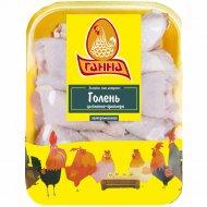 Голень цыпленка-бройлера «Ганна» замороженная, 1 кг., фасовка 0.75-1.05 кг
