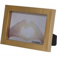Рамка для фото пластмассовая, 18x13 см.