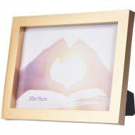 Рамка для фото пластмассовая, 22.5x17.5 см.