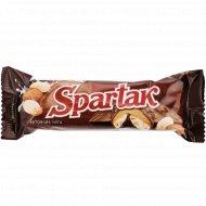 Батончик«Spartak»глазированный нуга с мягкой карамелью и арахисом,50г.