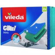 Губка «Vileda» для мытья посуды, 2 шт.
