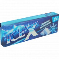 Жевательная резинка «Ice-X» зимняя свежесть, 30 г.