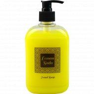 Жидкое мыло «Lemon Soda» лимонада, лемон сода, 500 мл.