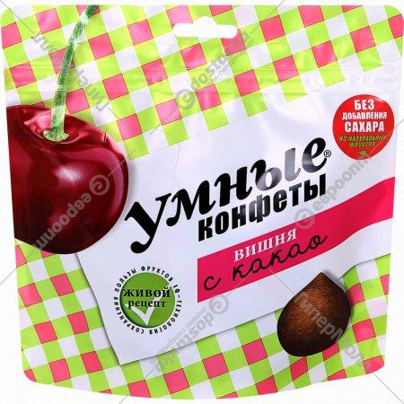Конфеты «Умные конфеты» вишня с какао, 160 г.