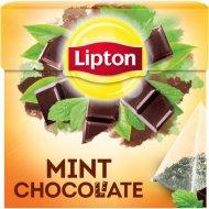 Чай черный «Lipton» шоколад с мятой, 20 пакетиков, 36 г.