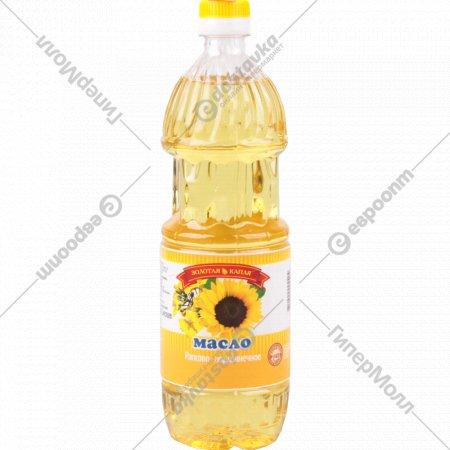 Масло рапсово-подсолнечное «Золотая капля» рафинированное 780 мл.