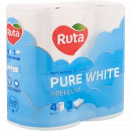 Бумага туалетная «Ruta» Premium, 4 рулона.