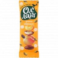 Батончик фруктово-ореховый «Ол'Лайт» абрикос, 30 г