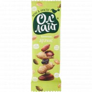 Батончик фруктово-ореховый «Ол'Лайт» арахис, 30 г
