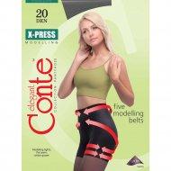 Колготки женские «Conte Elegant X-press» 20 den, размер 3, nero