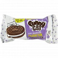 Печенье сахарное «Funny cat» с какао, 42 г.