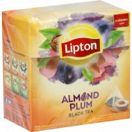Чай черный «Lipton» с лепестками роз, 20 пакетиков.