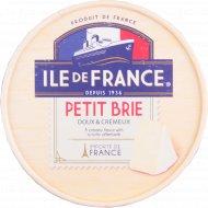 Сыр безлактозный «Ile de France» с плесенью Бри 125 г.