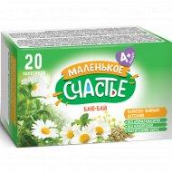 Напиток чайный, маленькое счастье «Баю-бай» детский, 1 г х 20 шт.